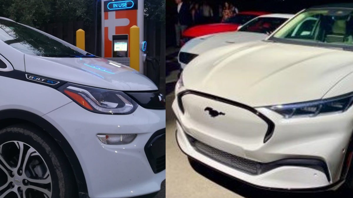 2017 Chevy Bolt Ev Vs. 2021 Ford Mustang Mach E Select 2021 Chevy Volt Charger, Changes, Dimensions