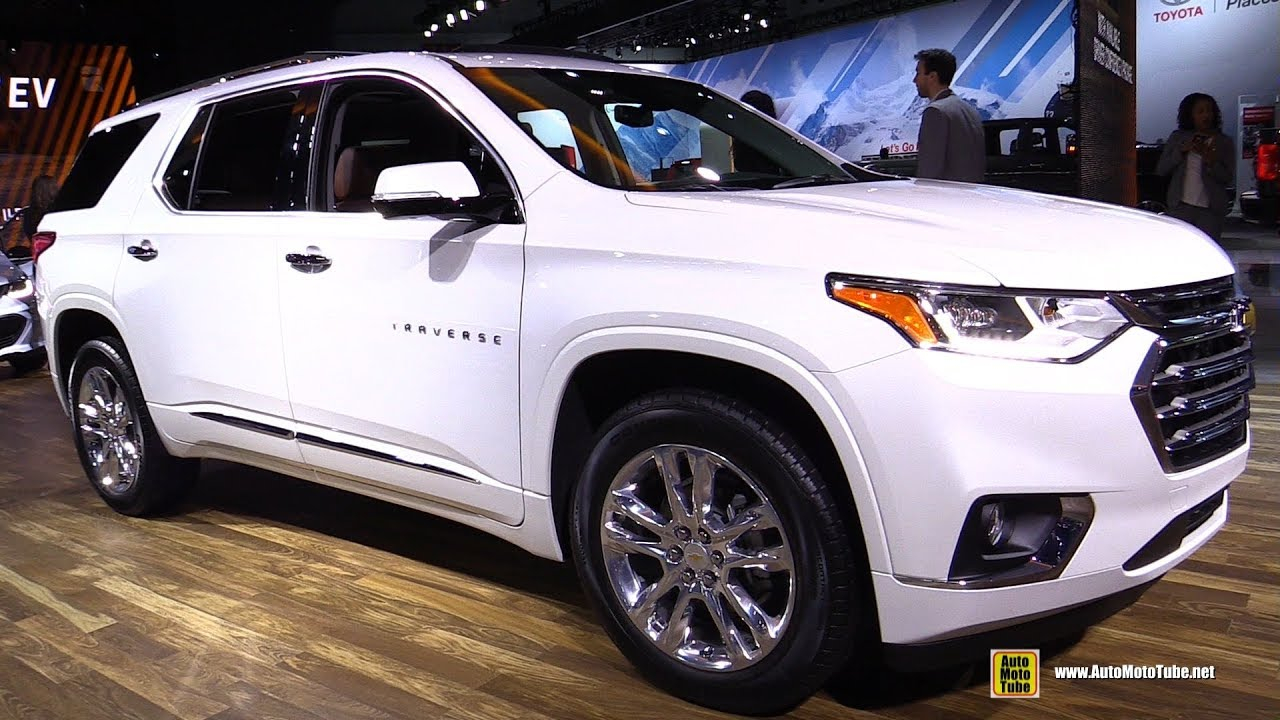 2018 Chevrolet Traverse High Country - Exterior And Interior Walkaround - 2017 La Auto Show 2021 Chevrolet Traverse High Country Interior, Review, Near Me
