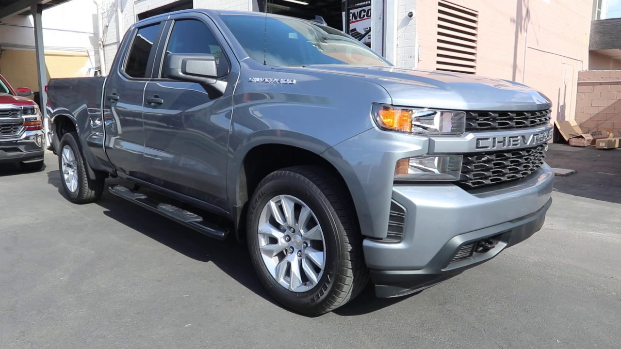 2019 Chevy Silverado Double Cab Nerf Bars Rims For A 2021 Chevy Silverado Nerf Bars, Near Me, New
