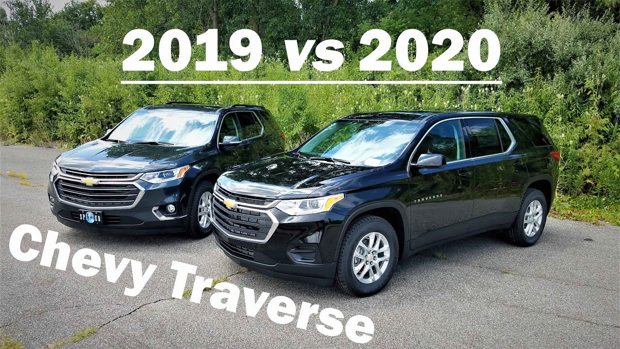 2019 Chevy Traverse Vs 2020 Chevy Traverse - 3 Big Differences - Here Is What's New! Difference Between 2021 Chevy Traverse Ls And Lt