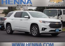 2021 Chevy Traverse Premier Manual, Options, Lease