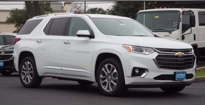 2021 Chevy Traverse Seat Covers, Safety Rating, Tire Size