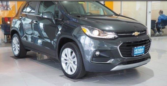2021 Chevy Trax User Manual, Upgrades, Value