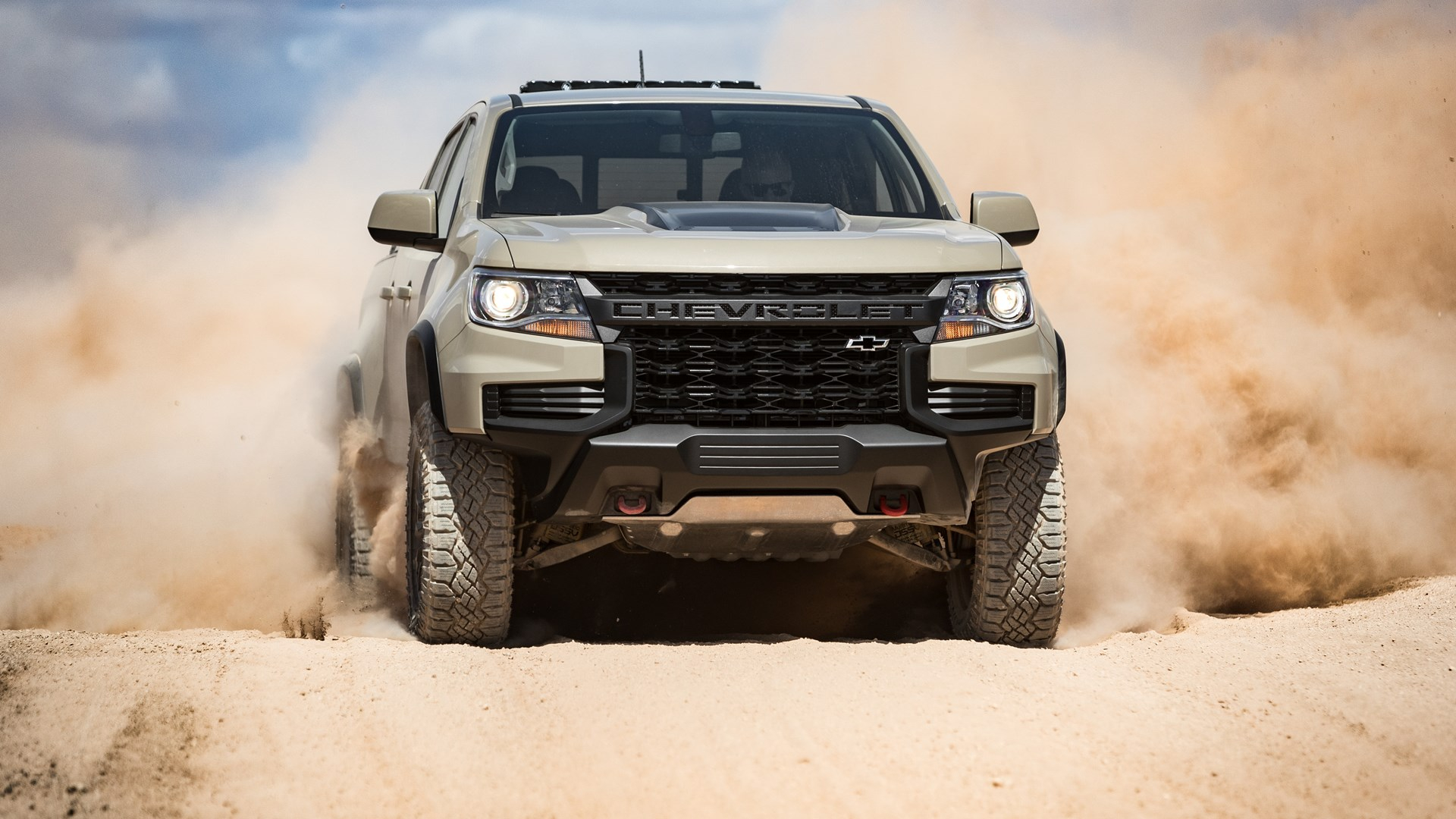 2021 Chevrolet Colorado Getting New Look, Desert Debut How Much Is A 2021 Chevy Colorado Z71