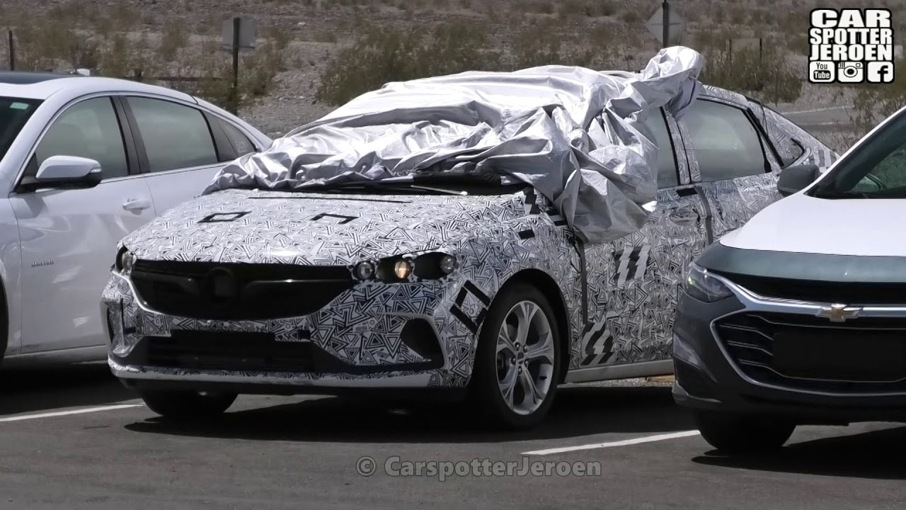 2021 Chevrolet Cruze Spied Testing In Death Valley What Does A 2021 Chevy Cruze Look Like