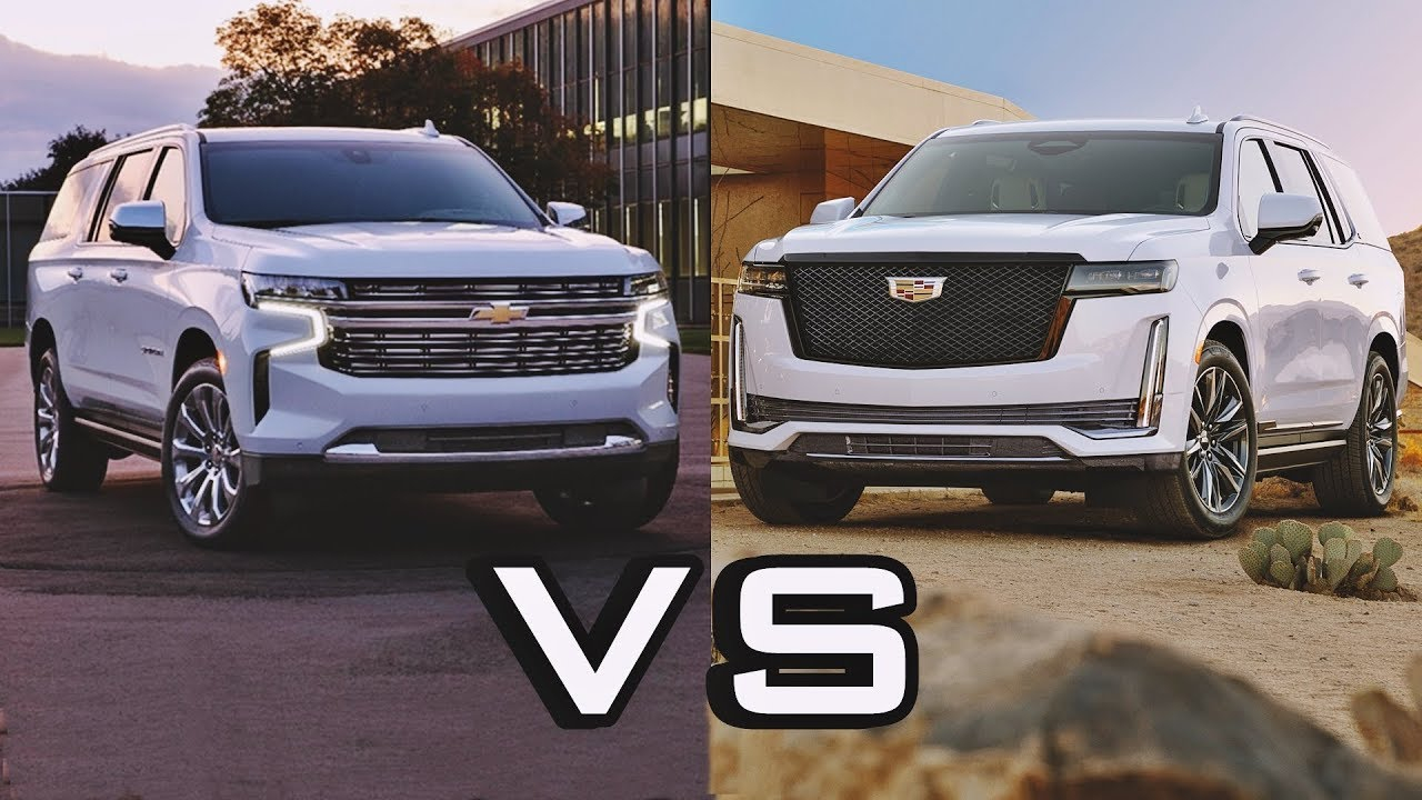 2021 Chevrolet Suburban Vs 2021 Cadillac Escalade - Excellent Large Suv Build Your Own 2021 Chevy Suburban Wheels, Price, 0-60