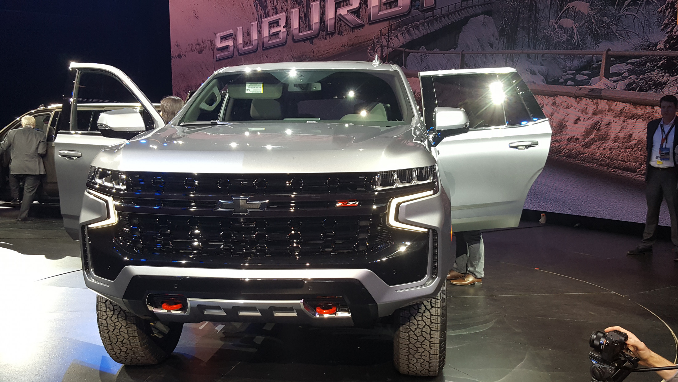 2021 Chevrolet Tahoe Z71 Busts The Trails, Has Sequoia Trd 2021 Chevy Colorado Zr2 Bison Colors, Ground Clearance, Interior