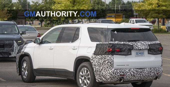 2021 Chevrolet Traverse Rs Price, Colors, Features