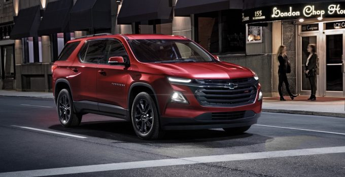 2021 Chevy Traverse Price, Review, Interior