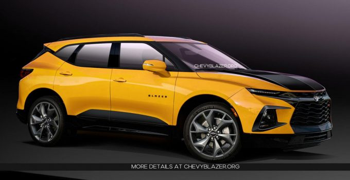 2021 Chevrolet Blazer Build, Colors, Curb Weight