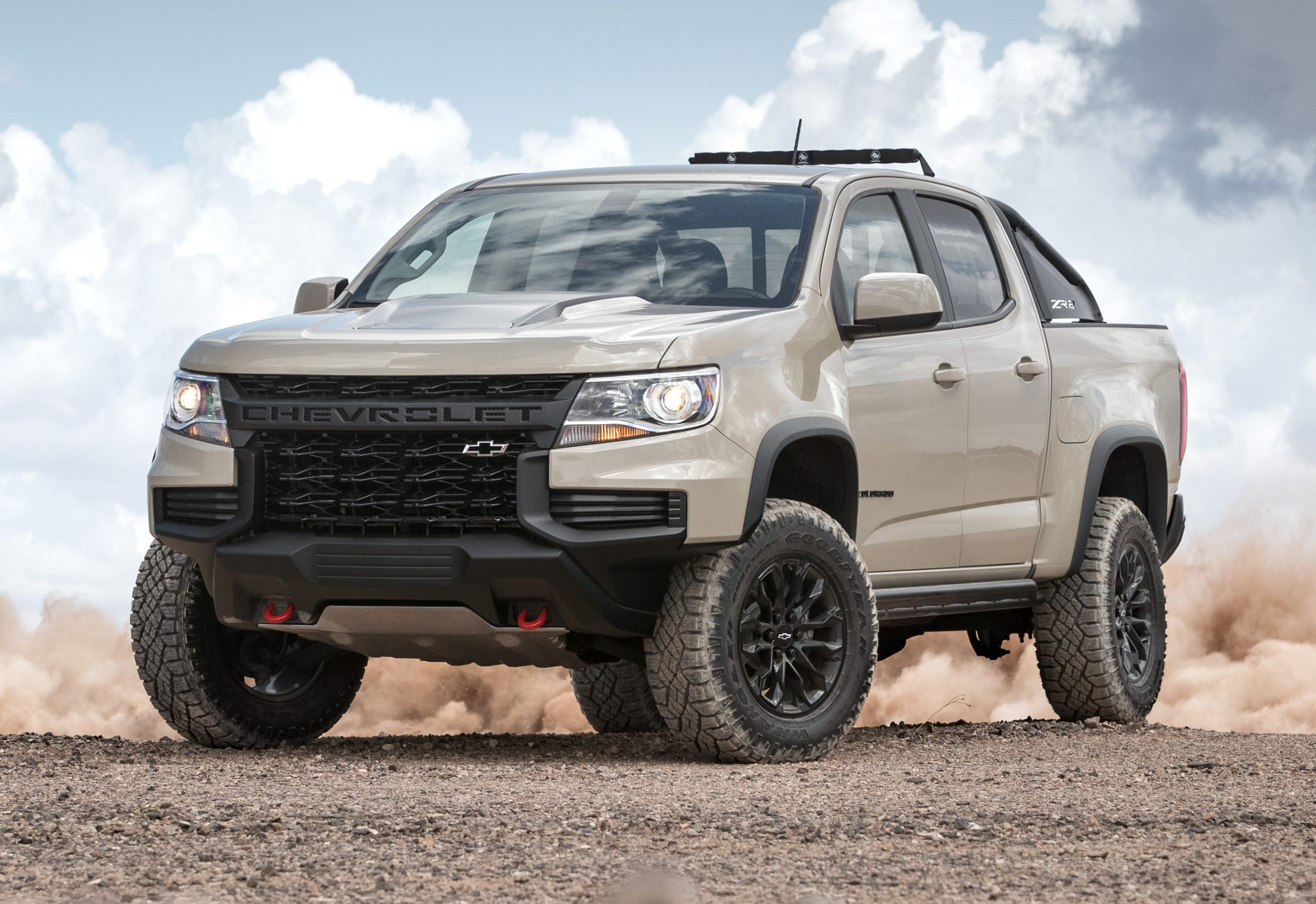 2021 Chevy Colorado Zr2 Gets New Front End Design How Much Is A 2021 Chevy Colorado Z71