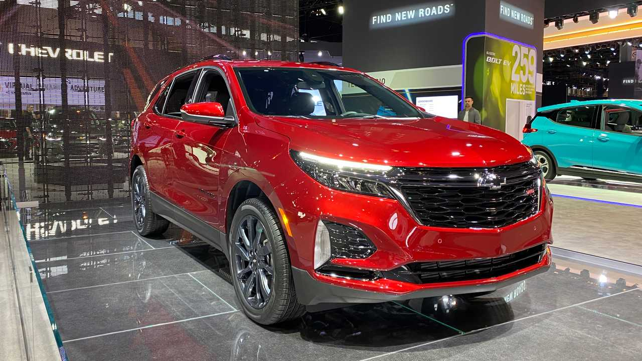 2021 Chevy Equinox Revealed With Updated Styling And Rs Trim 2021 Chevy Equinox Lt Awd, Specs, Reviews