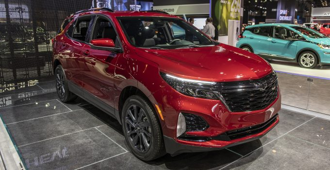 2021 Chevy Equinox Used, User Manual, Upgrades