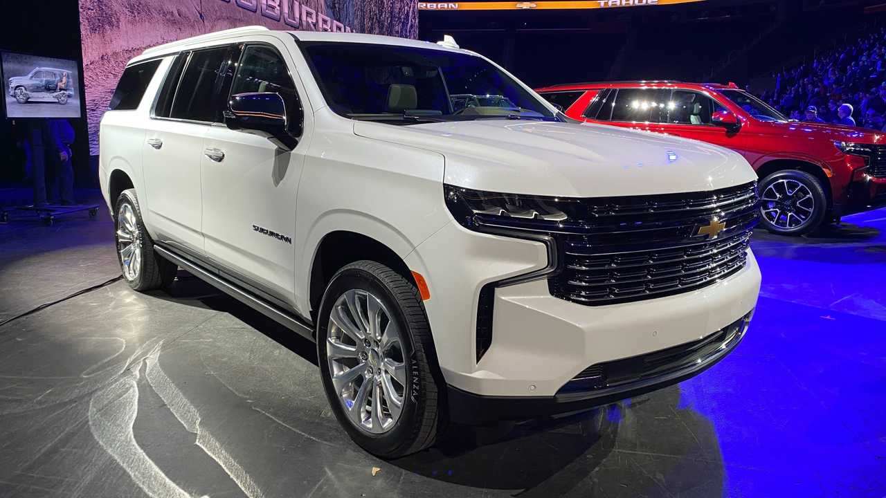 2021 Chevy Tahoe Priced From $50,295, Premier Trim Is $63,895 2021 Chevrolet Tahoe Premier Towing Capacity, Build, Inside
