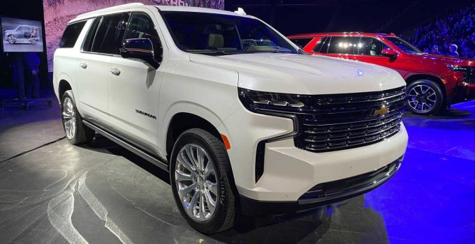 What Does A 2021 Chevy Tahoe Cost