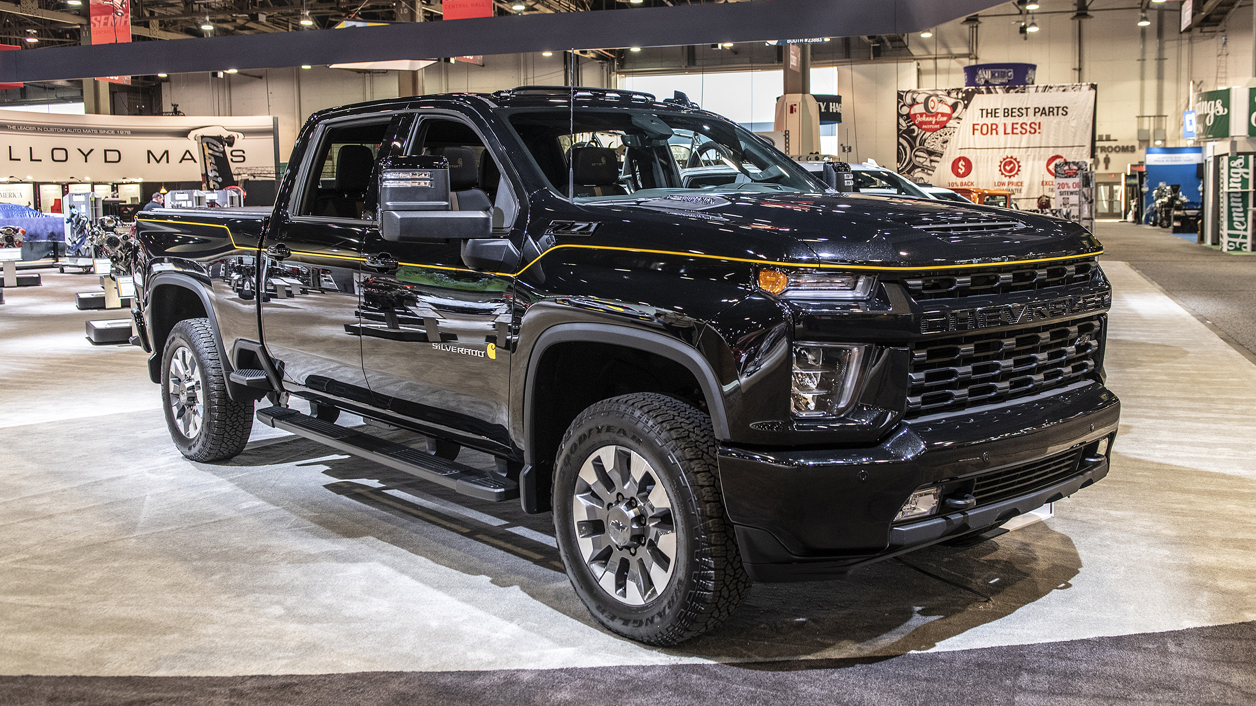 2021 Silverado Hd Carhartt Special Edition: Sema 2019 Photo Cost Of A 2021 Chevy Silverado Incentives, Inside, Images