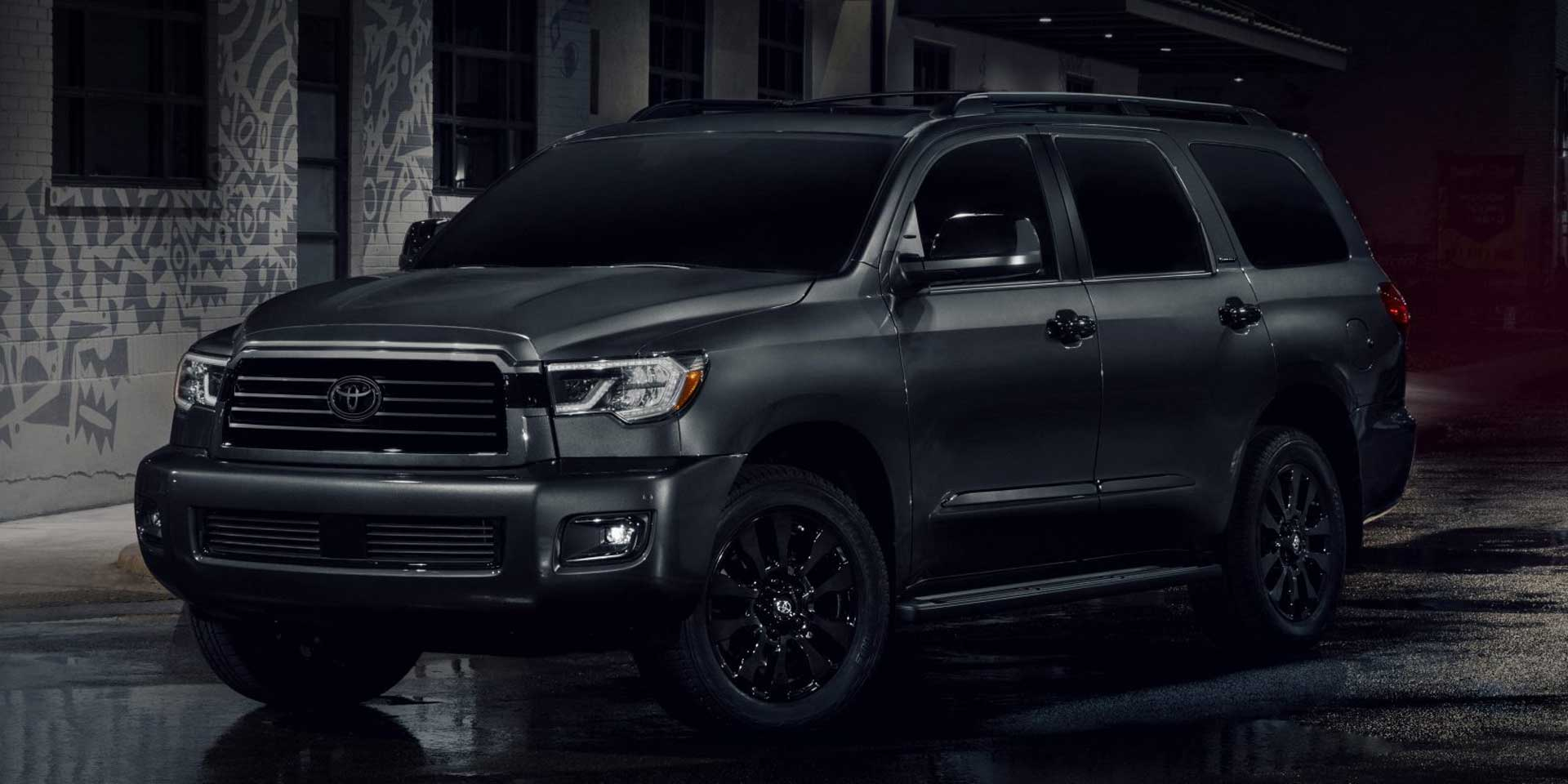 2021 - Toyota - Sequoia - Vehicles On Display | Chicago Auto 2021 Chevy Spark Safety, Towing Capacity, Tires