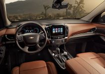 2021 Chevy Traverse Ls Fwd, Interior, Lease