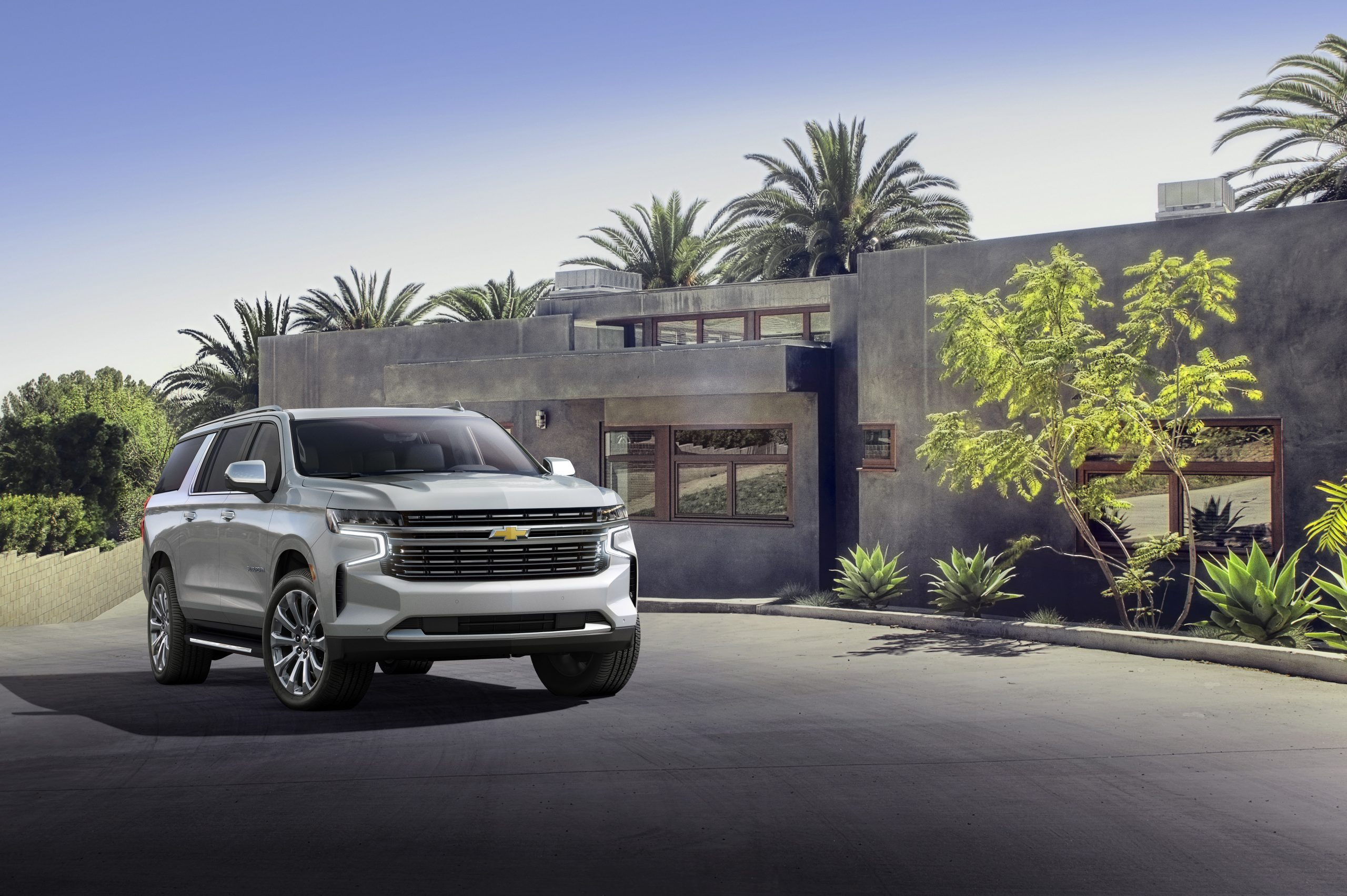 Chevrolet Introduces All-New 2021 Tahoe And Suburban Pictures Of A 2021 Chevy Silverado Headlights, Hp, Height