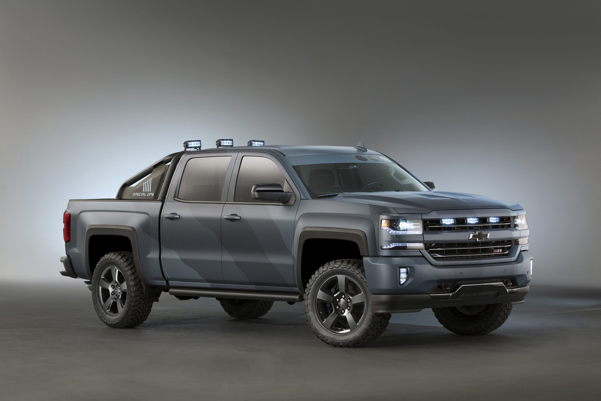 Chevrolet Introduces Silverado Special Ops Concept 2021 Chevy Silverado 1500 Gross Vehicle Weight, Grill Guard, Horsepower