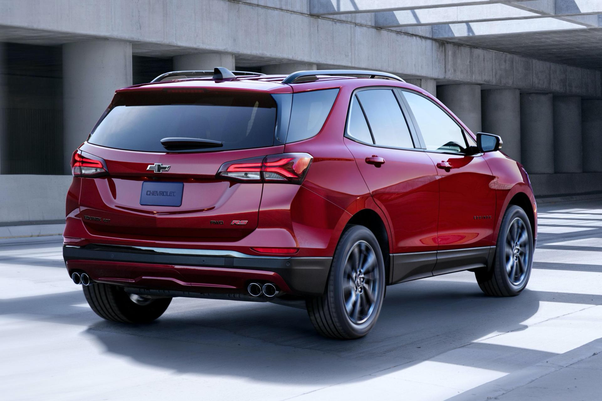Chevy Gives 2021 Equinox Suv A New Face Along With Rs Trim Does The 2021 Chevy Equinox Have Navigation