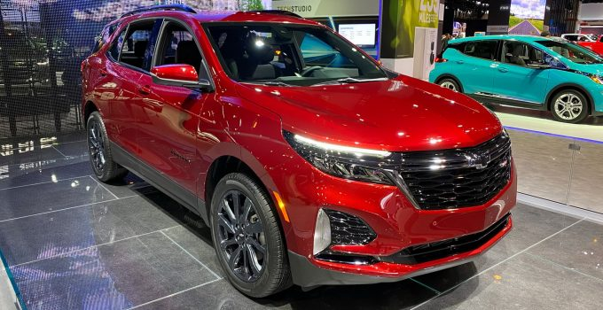 Does The 2021 Chevy Equinox Have Navigation
