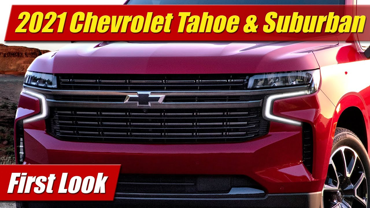 First Look: 2021 Chevrolet Tahoe & Suburban - Testdriven.tv 2021 Chevy Suburban Towing Capacity, Accessories, Awd