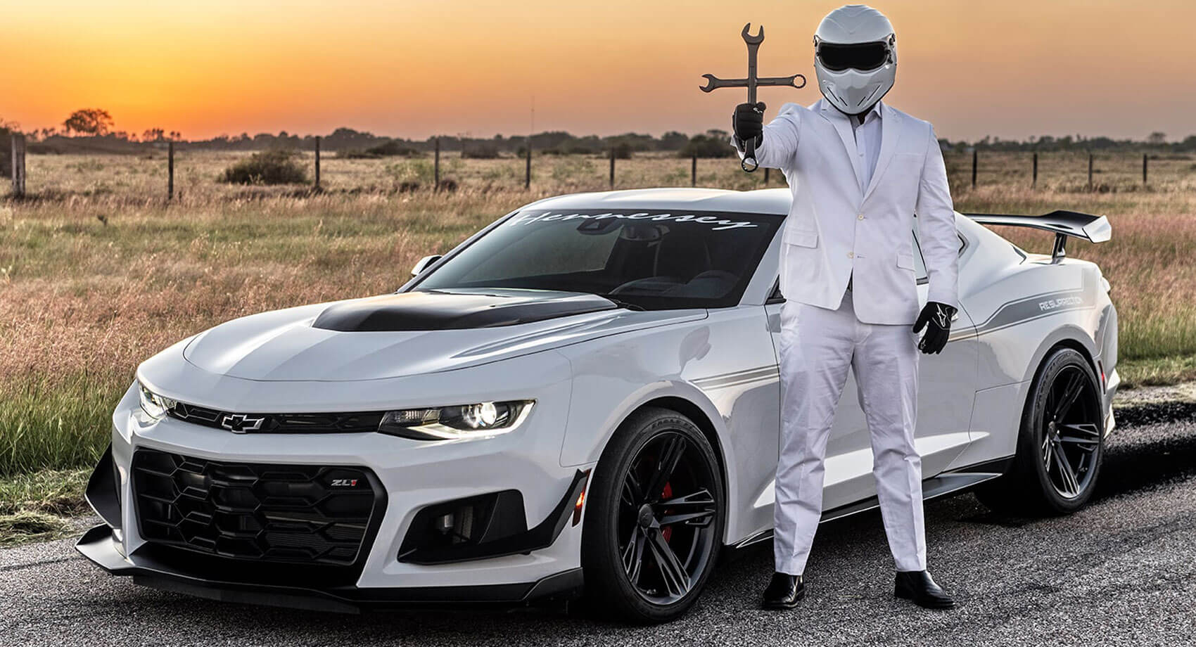 Hennessey Resurrection Is A 'vette-Powered Camaro Zl1 1Le 2021 Chevy Camaro Zl1 Weight, Wheels, 0-60