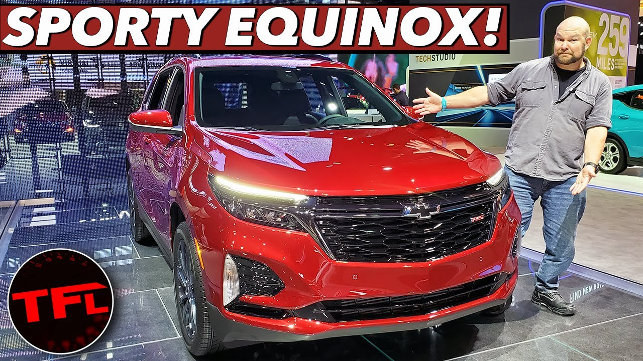 The 2021 Chevrolet Equinox Is A Racy-Looking Version Of Gm's Best-Selling Crossover! Does The 2021 Chevy Equinox Have Navigation