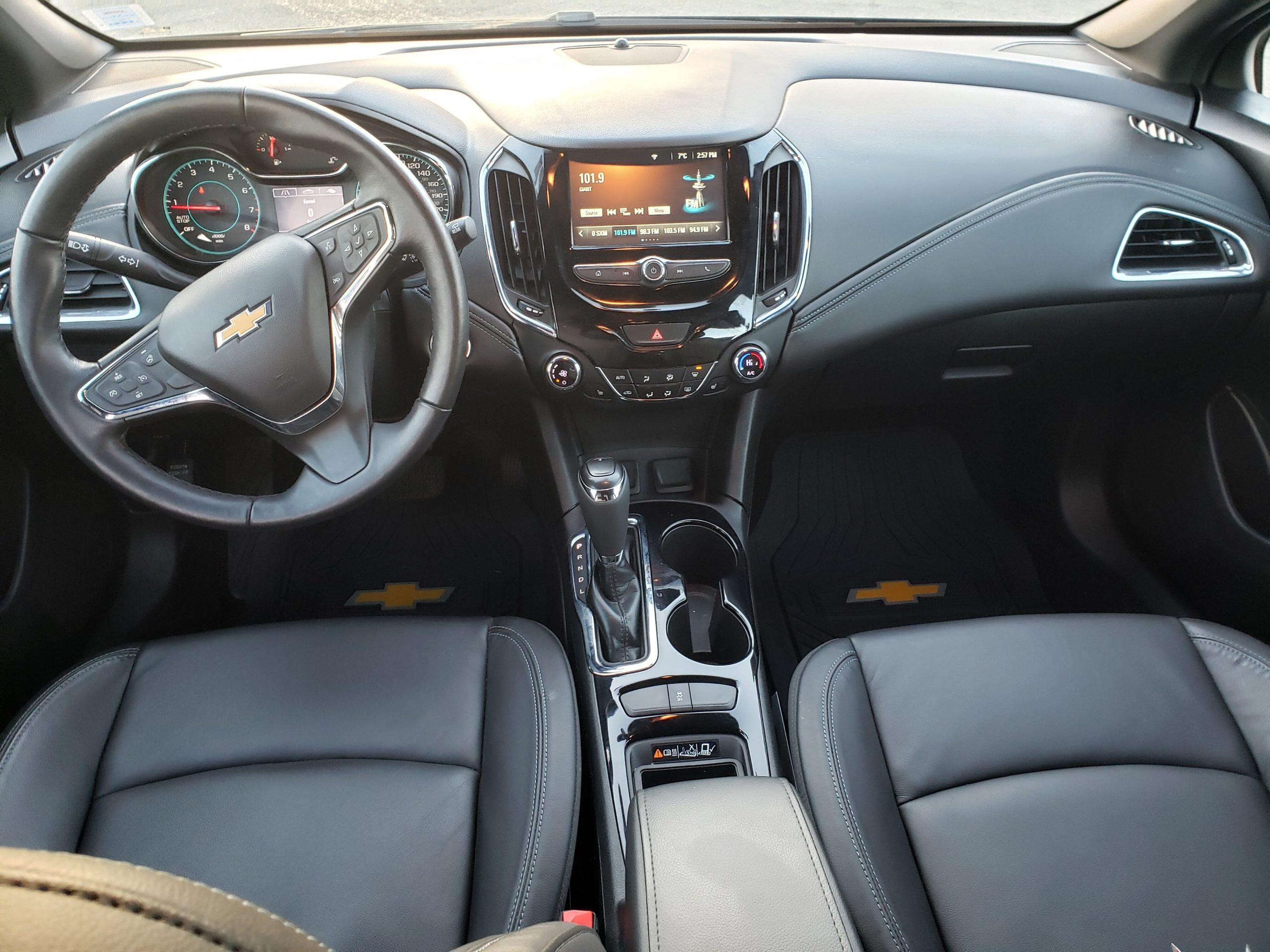 Used 2018 Chevrolet Cruze For Sale At Colbourne Chrysler 2021 Chevy Cruze Seat Covers, Safety Rating, Transmission