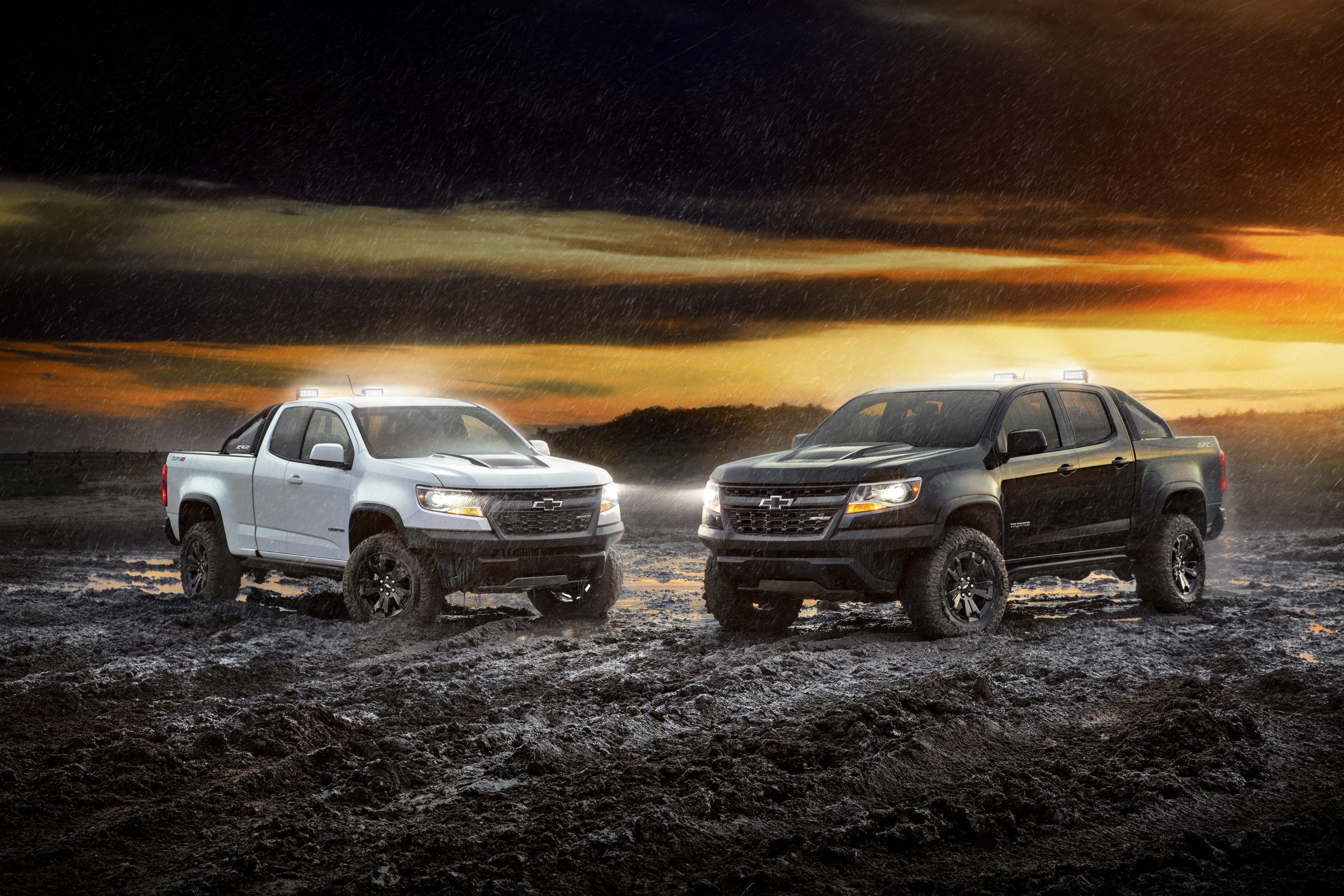 Zr2 Midnight And Dusk Editions Expand Choices In 2018 Bed Liner For 2021 Chevy Colorado Crew Cab