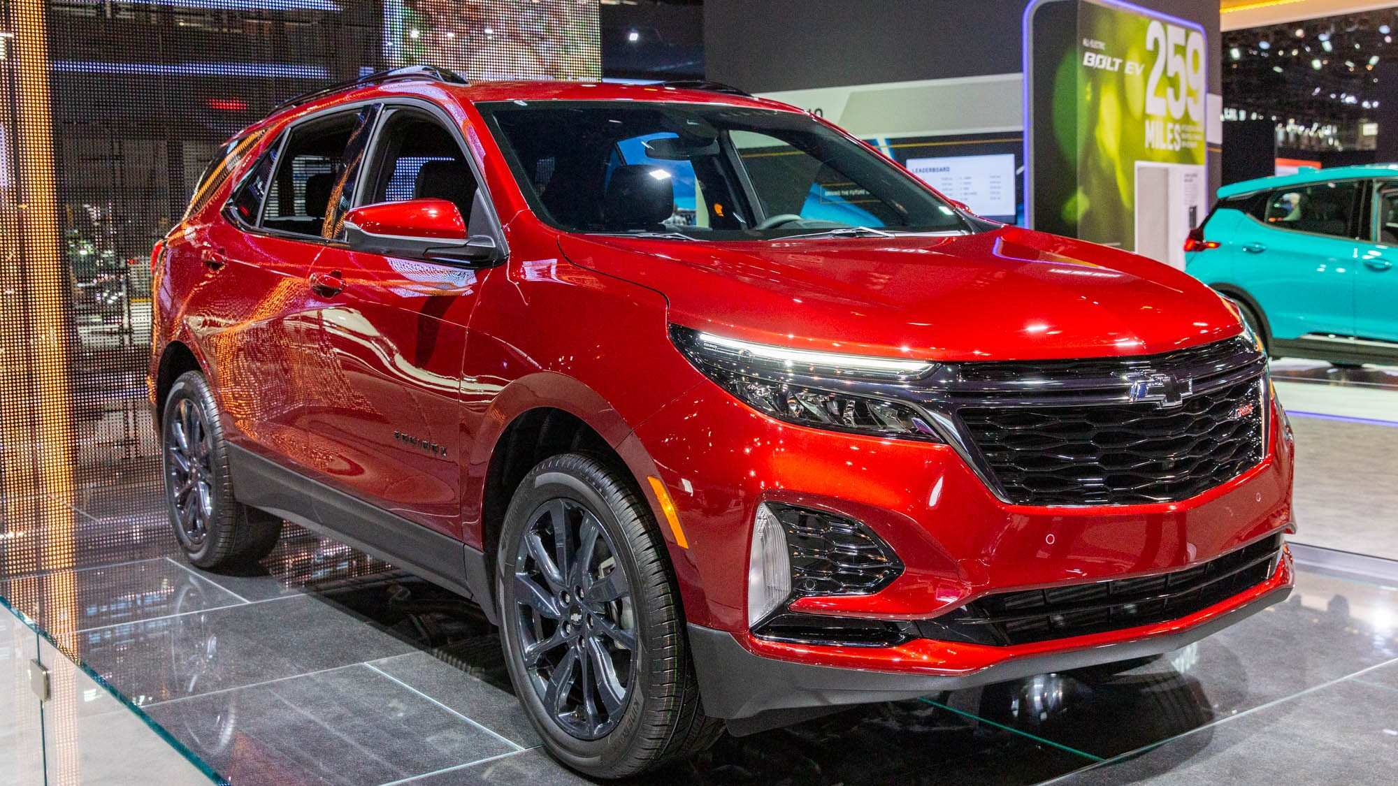2021 Chevrolet Equinox Takes Cues From Blazer Brother 2022 Chevy Blazer Rs Headlights, Images, Inventory