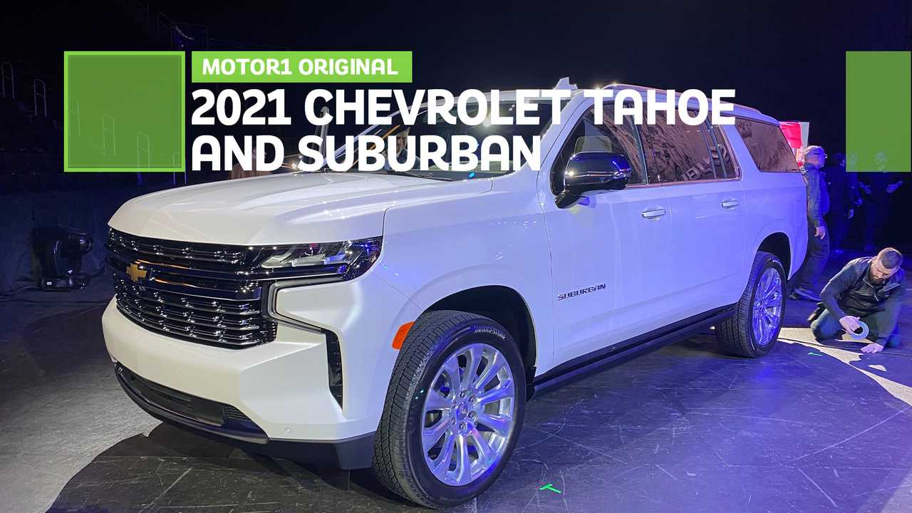 2021 Chevrolet Suburban And Tahoe: First Look 2022 Chevy Tahoe Brochure, Base Model, Cargo Space