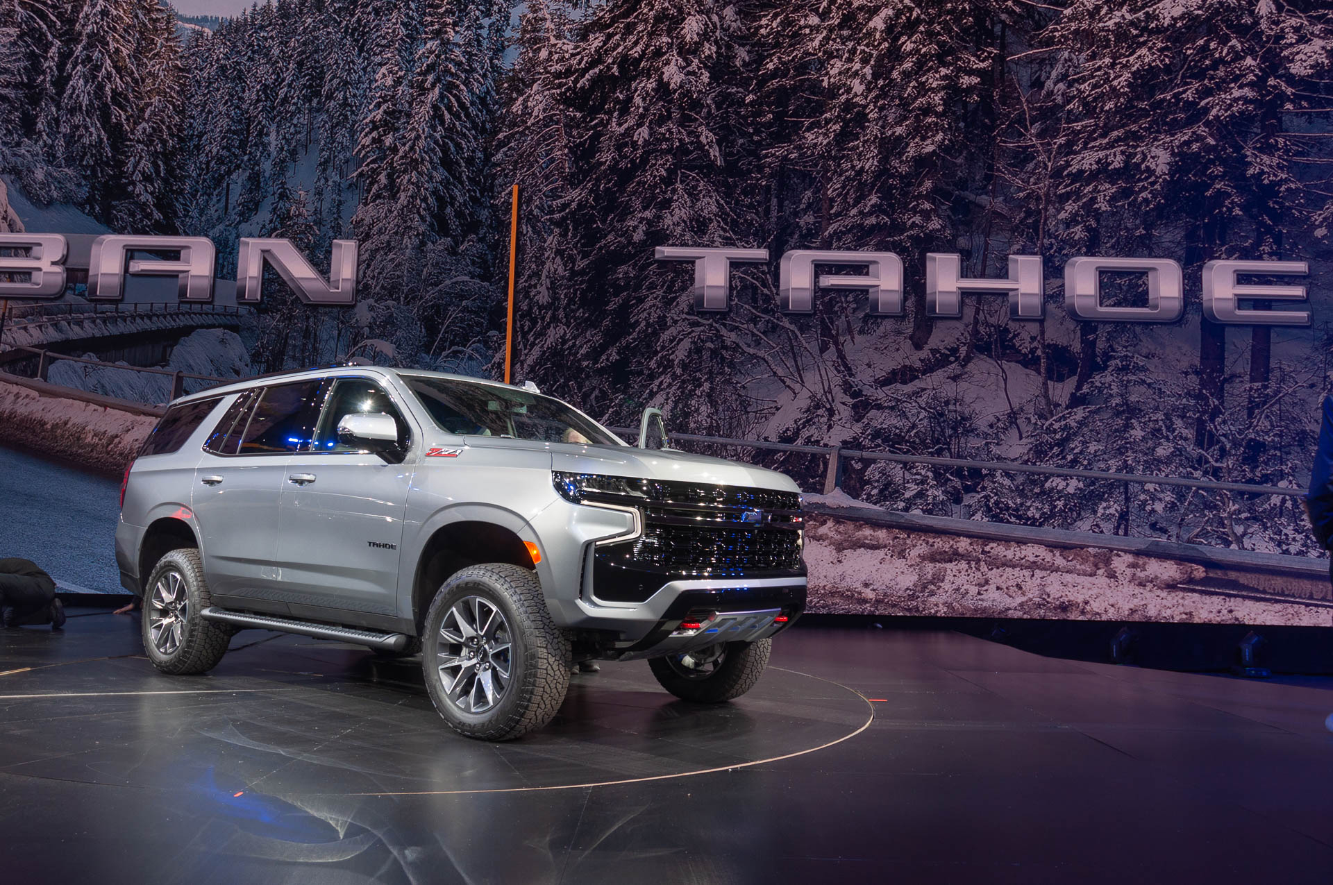2021 Chevrolet Tahoe And Suburban Double Down On Tech, Space 2022 Chevy Tahoe Brochure, Base Model, Cargo Space