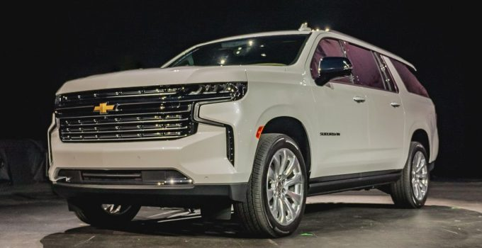 What Does A 2021 Chevy Suburban Cost