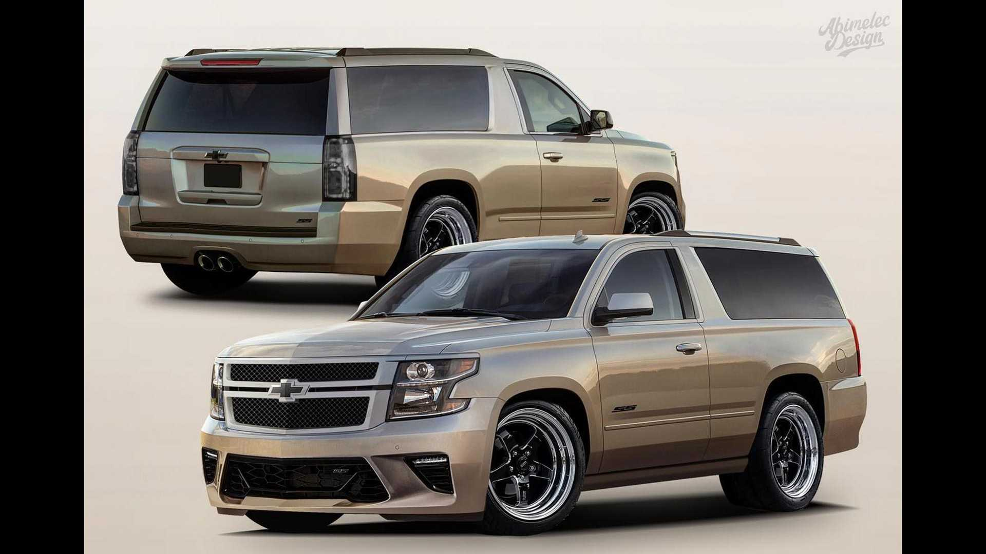 Chevy Tahoe Ss Two-Door Rendered, Might Come Into Real World 2022 Chevy Tahoe Curb Weight, Cost, Dimensions