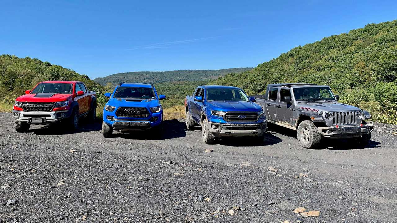 Fighting Dirty: Comparing Ford, Chevy, Jeep, And Toyota 2022 Chevrolet Blazer Trims, Towing, Wheels, Weight