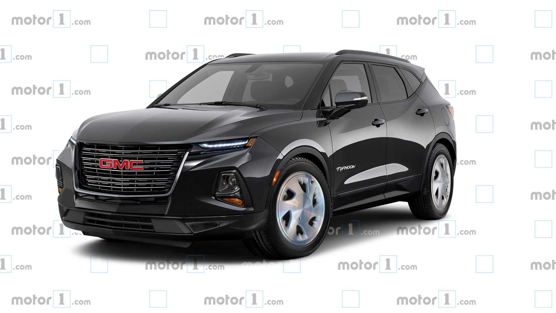 Gmc Typhoon Rendering Is The 500-Hp Chevy Blazer We Want 2022 Chevy Blazer Aftermarket, All Wheel Drive, Auto Stop