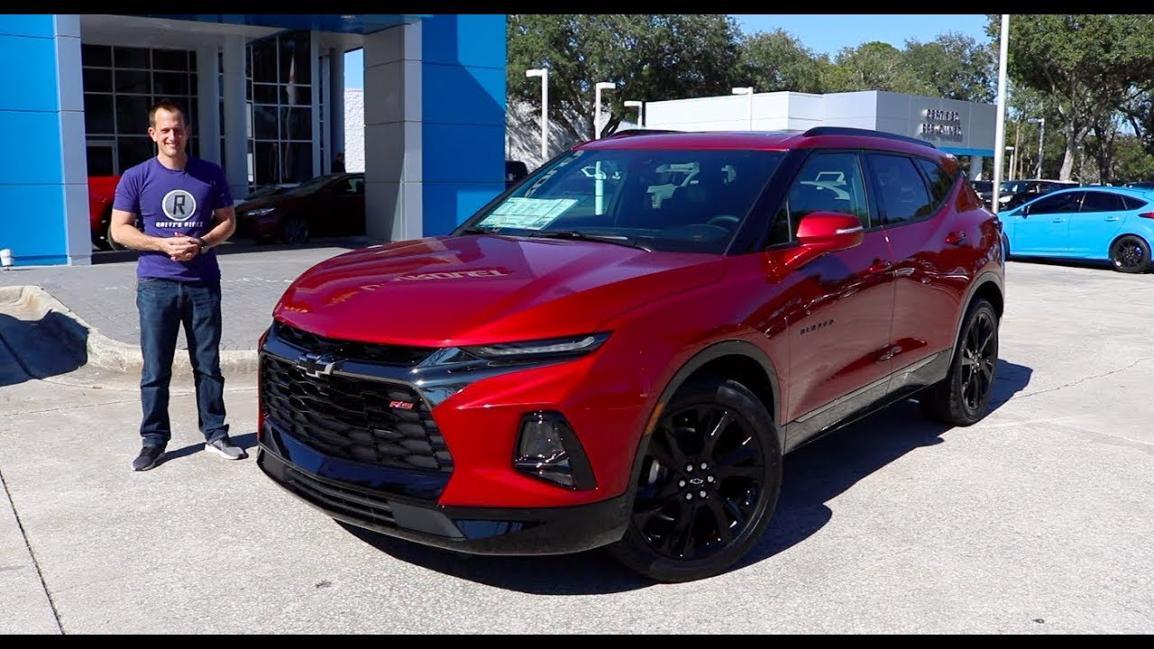Is The 2019 Chevy Blazer Rs A Boom Or Bust? 2022 Chevy Blazer Ss Performance, Cost, Interior