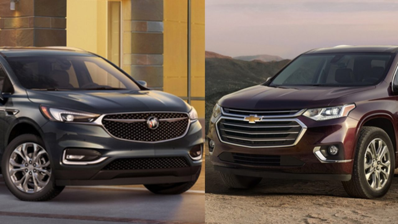 New Chevy Traverse, Buick Enclave Use Older Engines   Gm 2022 Chevy Traverse Oil, Owners Manual, Problems