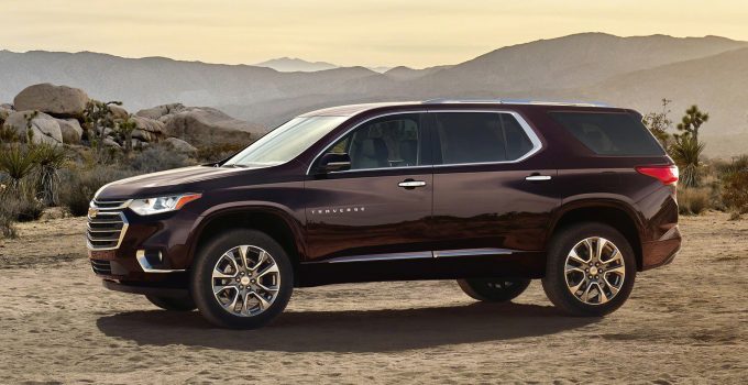 2022 Chevy Traverse High Country Review, Price, Interior