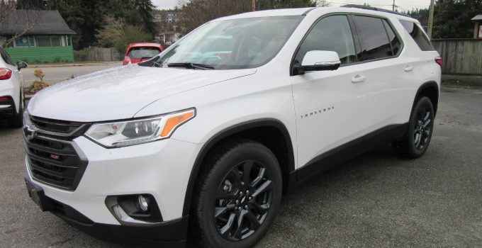 2022 Chevy Traverse Rs Near Me, Price, Used