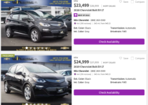 2022 Chevy Bolt Inventory, Issues, Improvements
