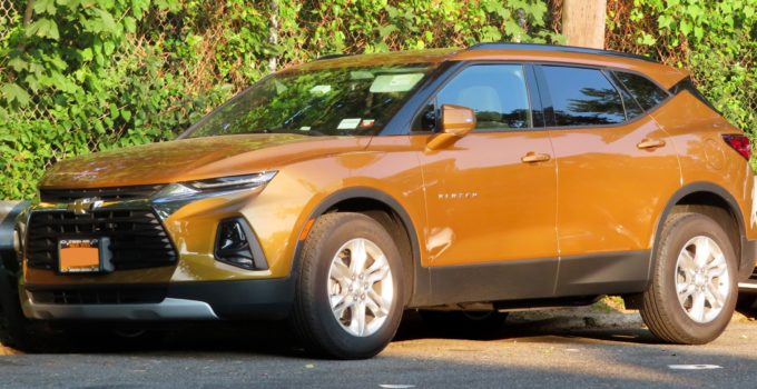 2022 Chevrolet Blazer Rs Fwd, Features, Hp