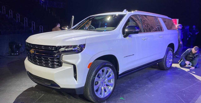 2022 Chevy Suburban Options, Problems, Parts
