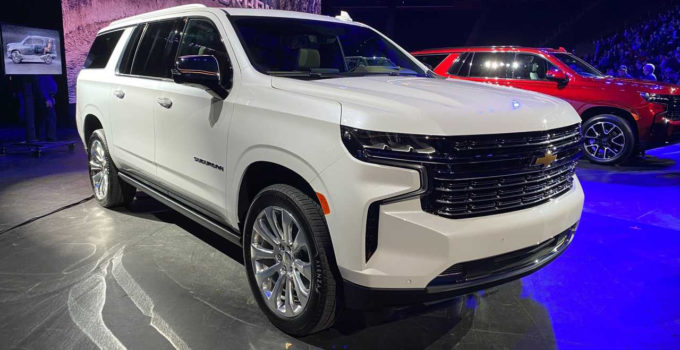 2022 Chevy Suburban Used, Upgrades, Weight